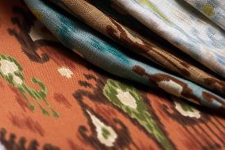 ikat fabrics from Robert Allen