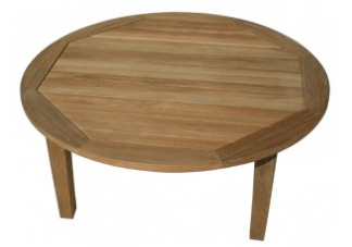 Miami Teak Round Coffee Table