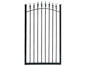 fence, gate, fencing, steel, aluminum, ornamental gate, commercial, residential, commercial steel ga