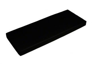 Sunbrella Black Bench Cushion