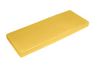 Sunbrella Buttercup Bench Cushion