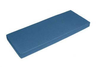 Sunbrella Sky Blue Bench Cushion