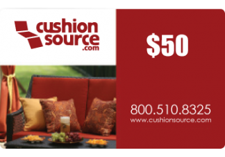 50 Cushion Source Gift Card