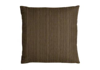 Sunbrella Dupione Walnut Pillow