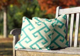 Sunbrella throw pillows