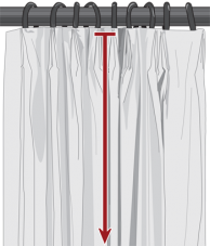 custom euro pleat drapes