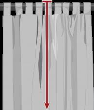Custom tab top drapes