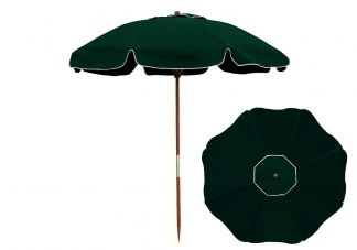7.5 Forest Green Beach Umbrella