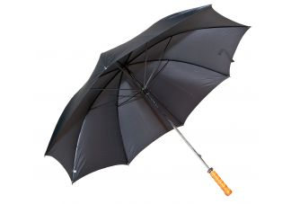 Classic Black Doorman Umbrella with Straight Handle