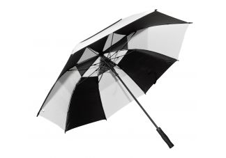 Fiberglass Golf Umbrella-Black and White