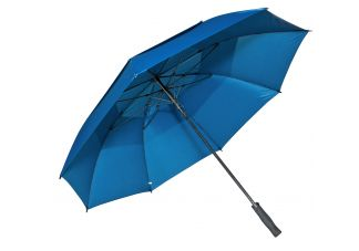 Fiberglass Golf Umbrella-Navy Blue