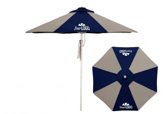 Commercial Logo Market Umbrella