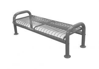 U-Leg Wire Bench without Back