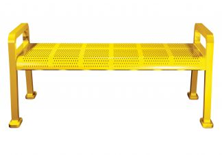 Perforated Backless Bench