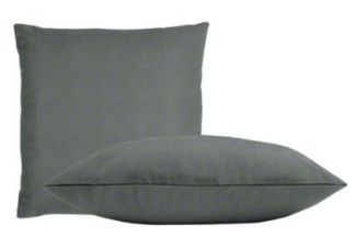 Sunbrella Charcoal Pillow Set