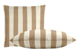 Sunbrella Maxim Heather Beige Pillow Set