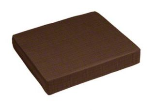 Sunbrella Spectrum Coffee Bean Seat Cushion