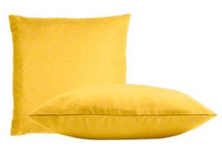 Sunbrella Sunflower Yellow Pillow Set