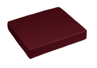 Sunbrella Burgundy Seat Cushion