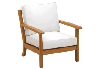 Teak Atlantic Deep Seating Chair