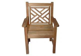 Teak Chippendale Chair