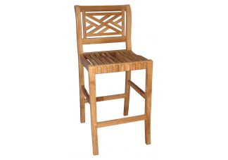 Chippendale Bar Chair