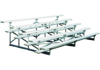 5 row aluminum bleachers