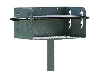 Galvanized Park Grill