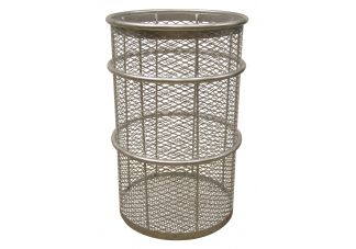 55 Gallon Galvanized Expanded Receptacle