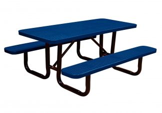 Rectangle Perforated Picnic Table