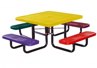 Square Expanded Childs Picnic Table