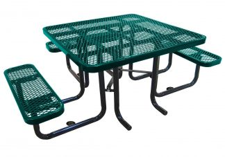 Square Expanded Accessible Picnic Table