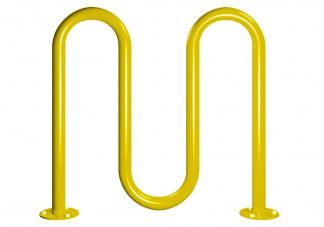 Heavy Duty Surface Mount Bike Rack-5 Capacity