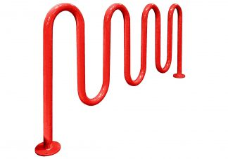 Shop Thermoplastic-Coated Bike Racks