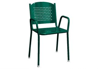 Perforated Metal Commercial Chair
