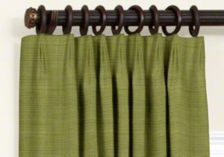 custom euro pleat blackout curtains
