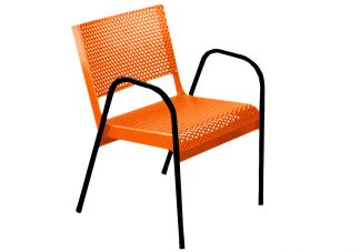 Classic Expanded Metal Canteen Chair