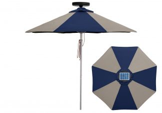 Commercial Illumishade Market Umbrella