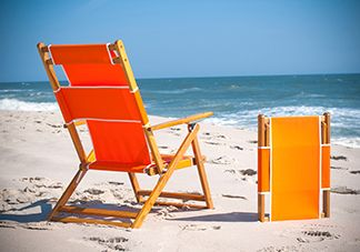 Orange Beach Chairs