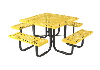 "46"" Classic Style Square Portable Picnic Table"