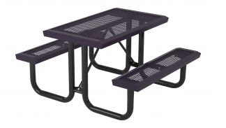 Perforated Park Bench T6INF