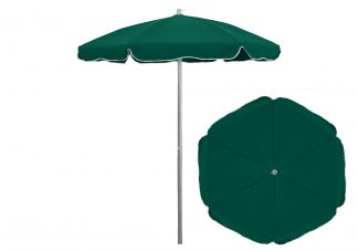6.5 ft. Sunbrella Forest Green Patio Umbrella