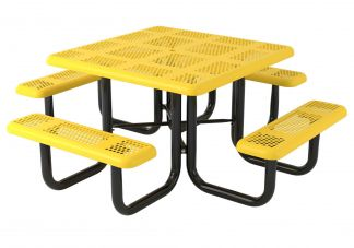 46 in. Perforated Portable Heavy Table