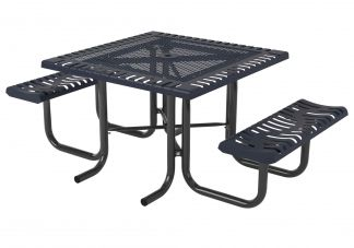 46 in. Classic Portable Table -2 Seats