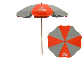 Fire Resistant Beach Umbrella