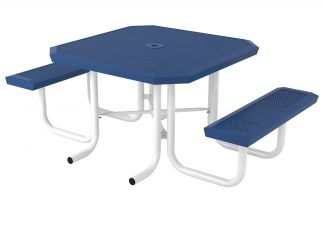 46 in. Square Infinity Innovated Portable Table - 2 Seat