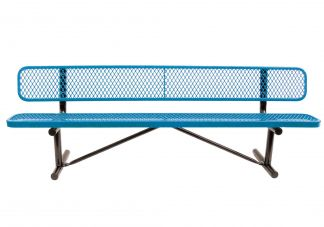 tennis court benches