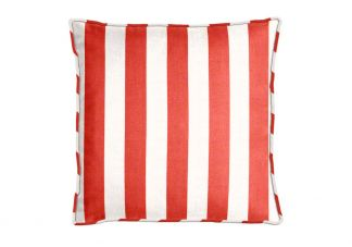Outdura Cafe Candycane Pillow