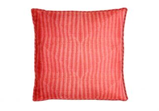 Robert Allen Folk Texture Bk Coral Pillow