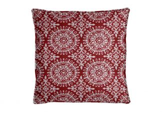Robert Allen Suzani Strie Red Lacquer Pillow